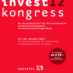 Veranstaltungstip: Kulturinvest Kongress 2012 in Berlin